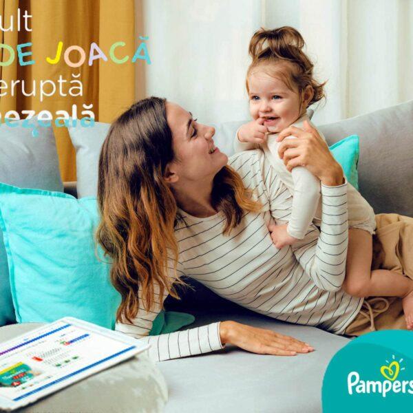 Campanie publicitara pentru pampers